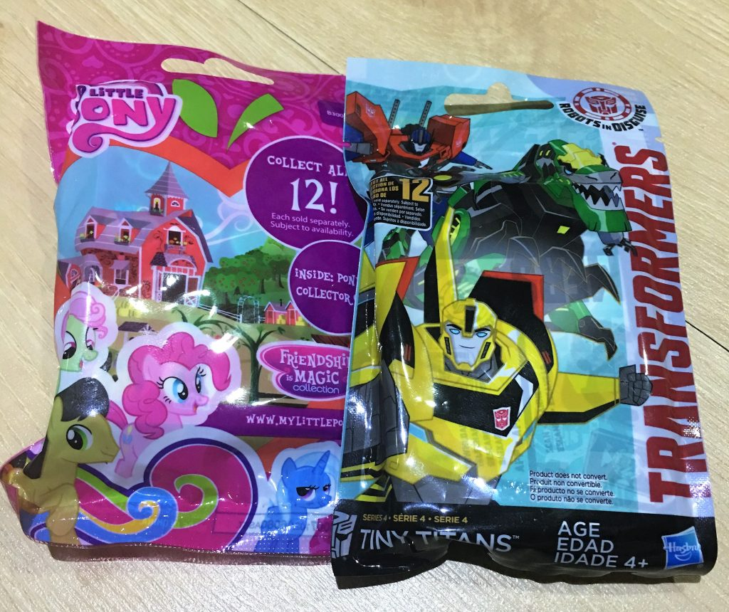 Transformers Tiny Titans & My Little Pony