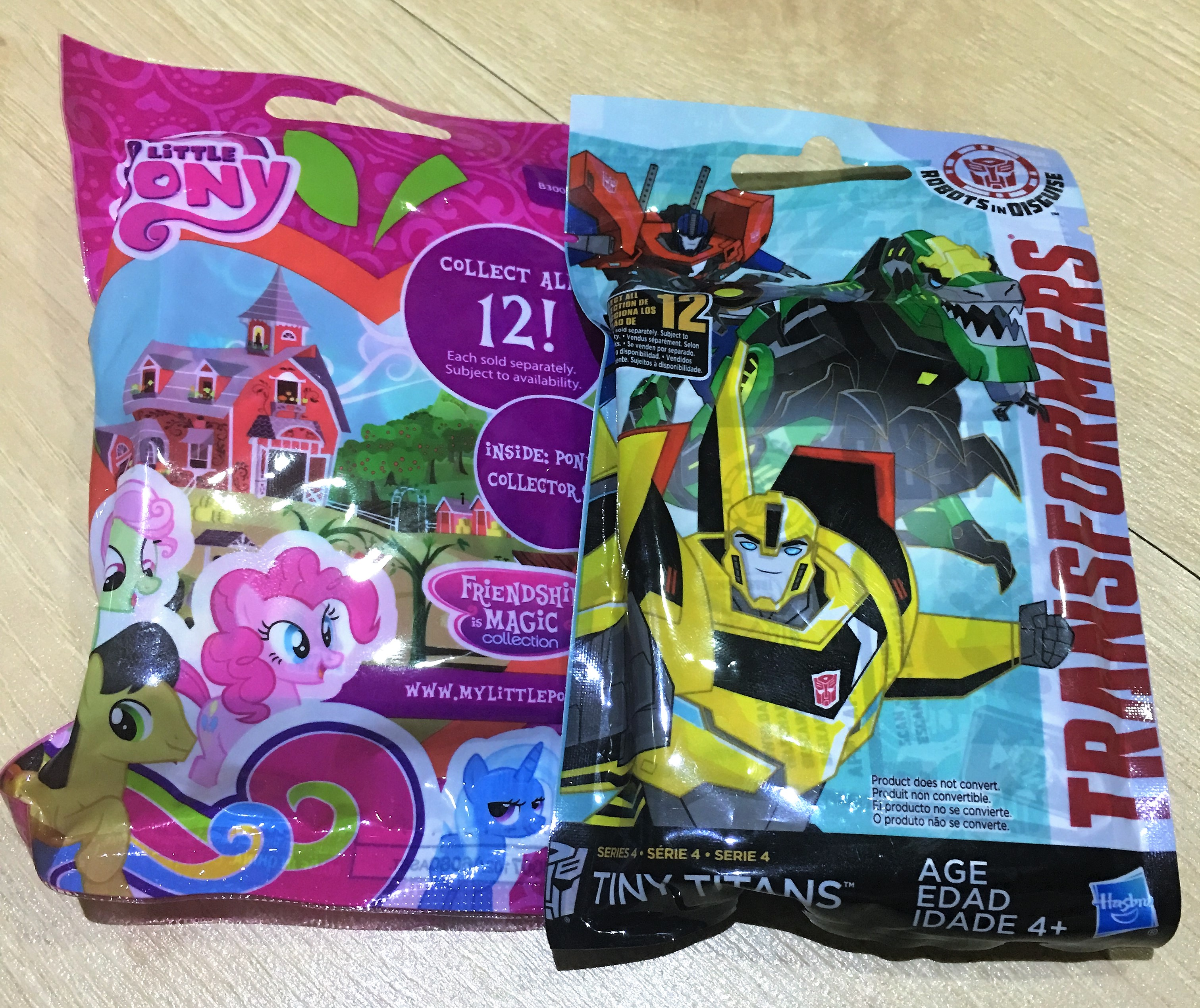 Transformers Tiny Titans & My Little Pony