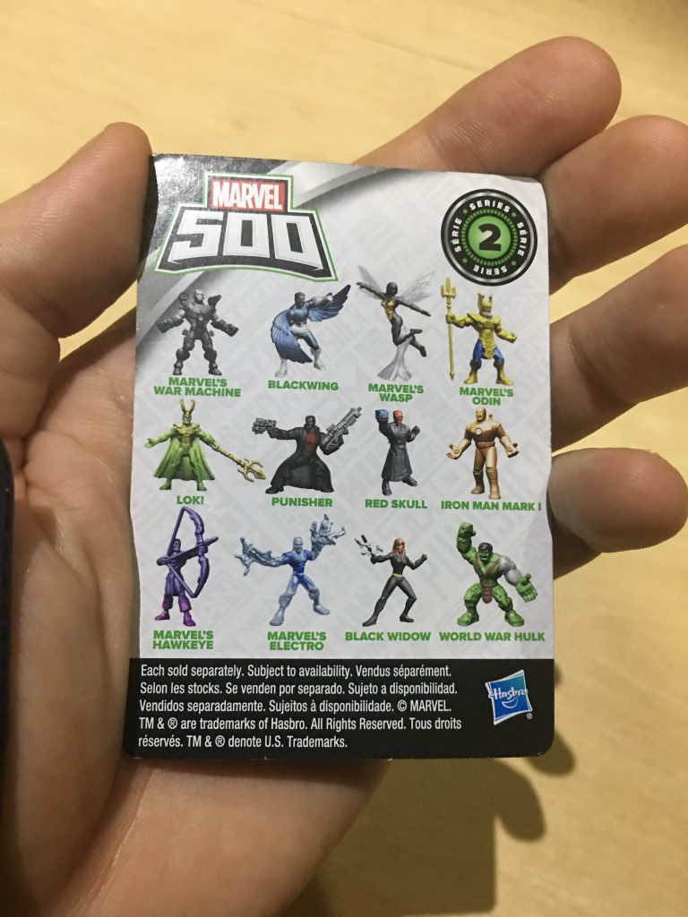 Marvel 500 - Series 2 - Collector card