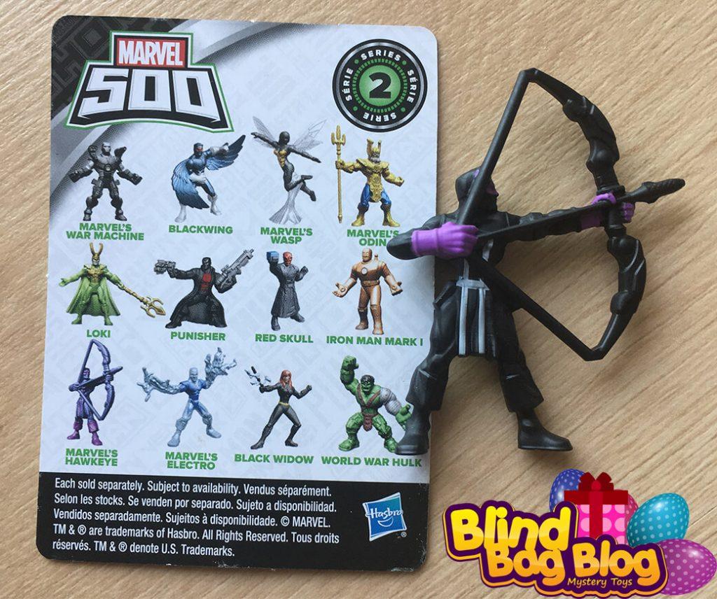 Marvel 500 Hawkeye