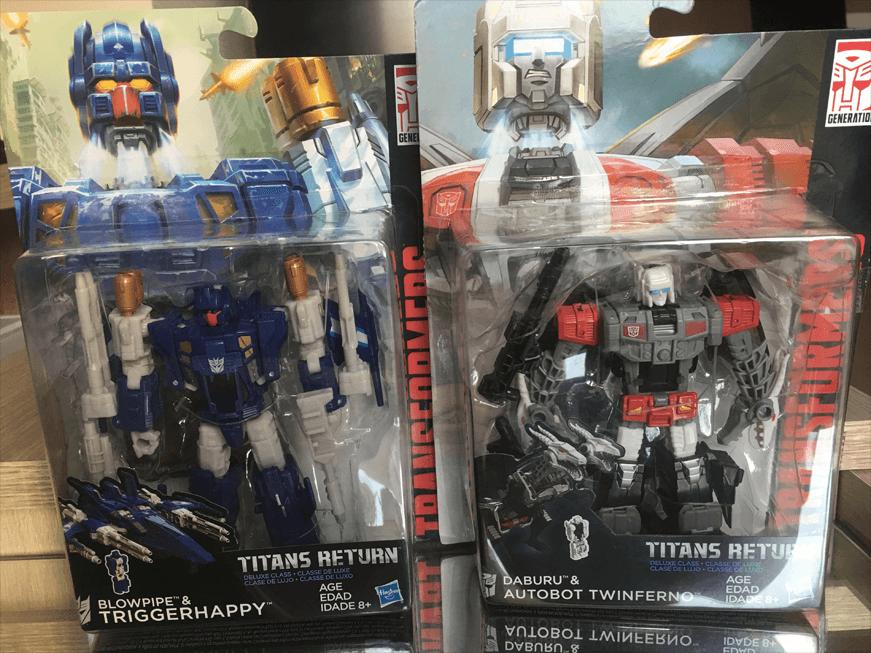 Transformers Titans Return Triggerhappy and Twinferno