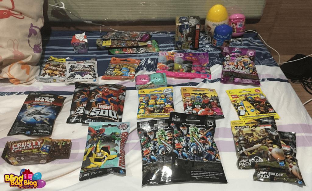 Blind bag toys