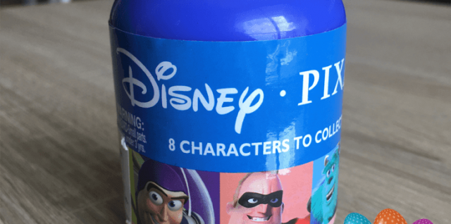 Disney Pixar capsule toy