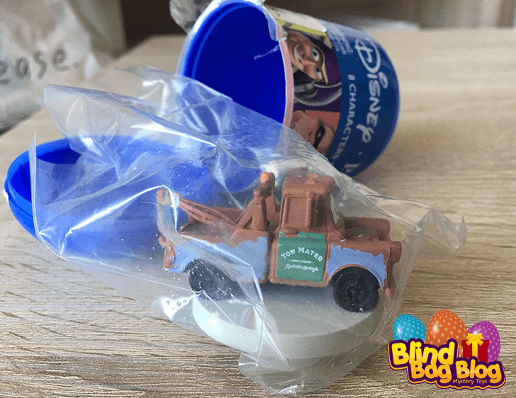 Disney Pixar Tow Mater capsule toy mini figure