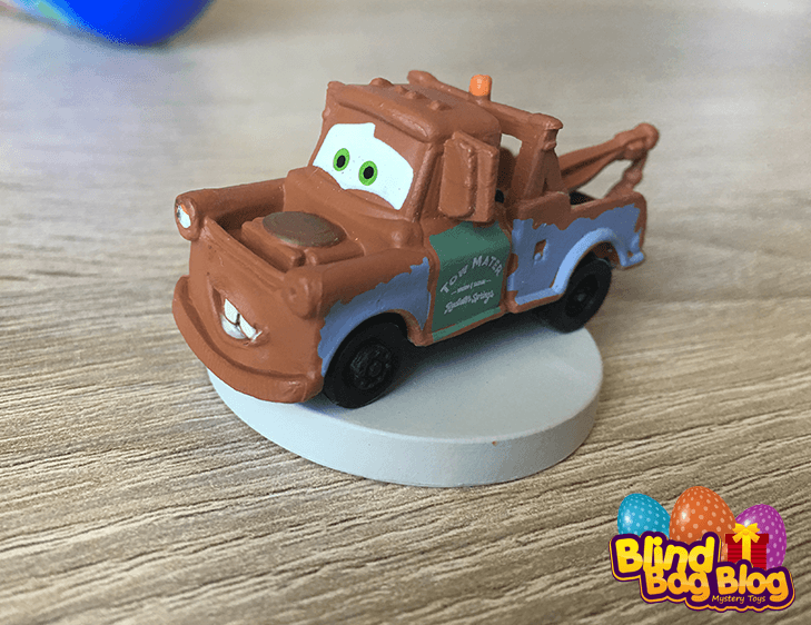 Disney Pixar Tow Mater capsule toy mini figure